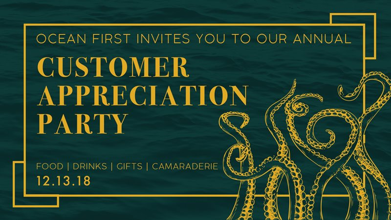 You're Invited: 2018 Customer Appreciation Party