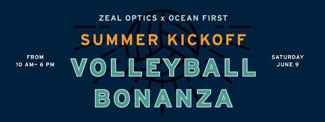 Zeal Optics x Ocean First Volleyball Tournament