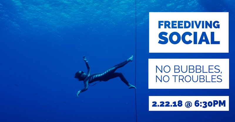 February Social: Freediving