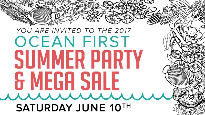 2017 Summer Party & Sale