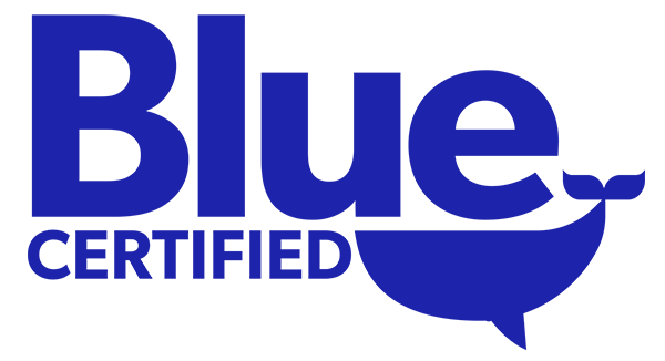 Ocean First Awarded the Blue Certified Eco-Label