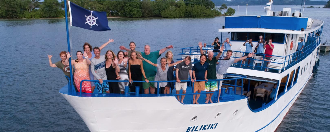 Why choose a group dive trip?