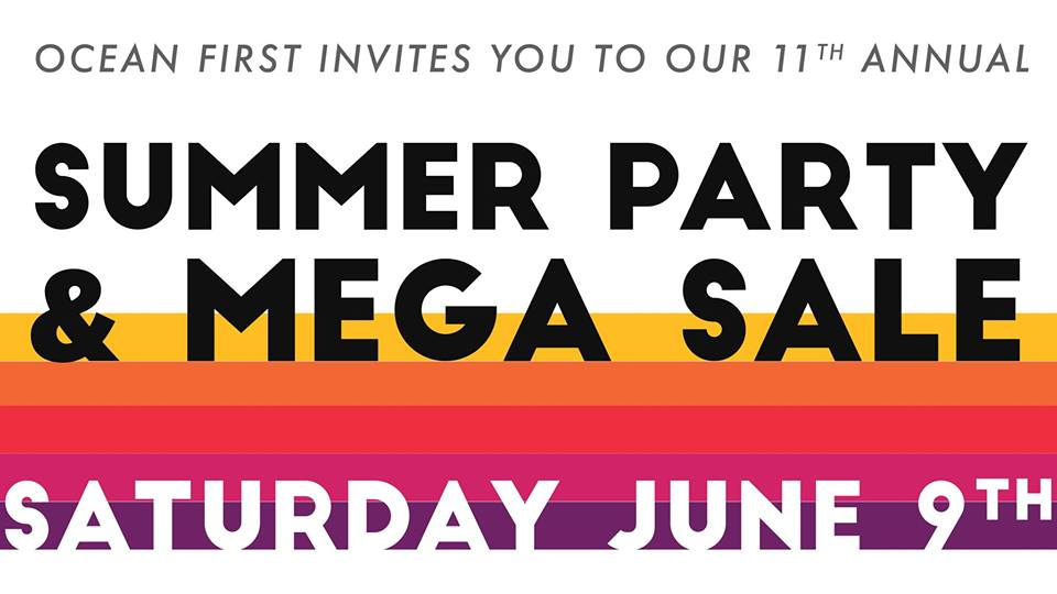 Don't Miss the Summer Party & Sale: Saturday, June 9th