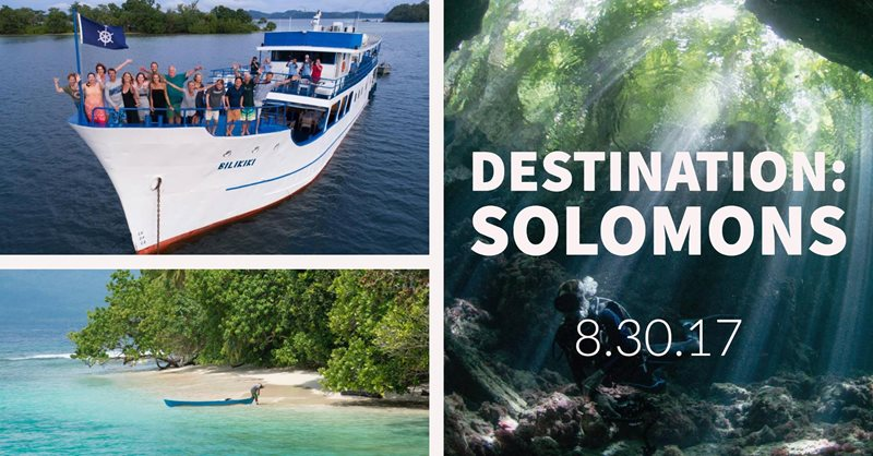 August Social: Destination Solomons