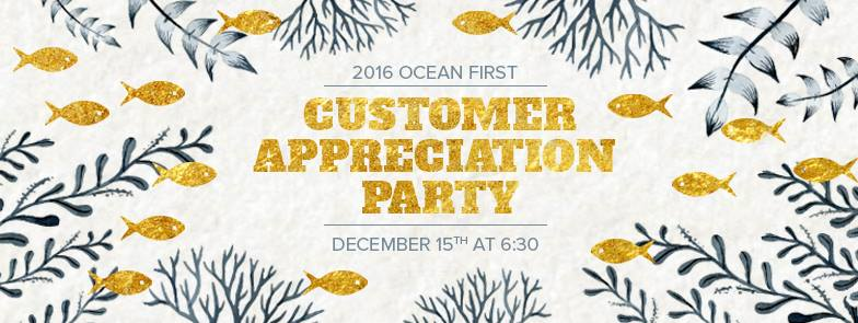 You're Invited: Customer Appreciation Party