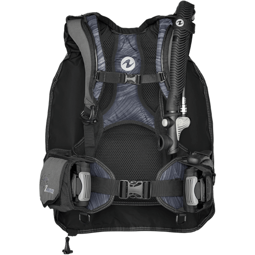 AquaLung Zuma BCD with integrated weight pockets