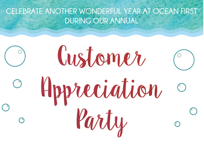 December 10th: Customer Appreciation Party