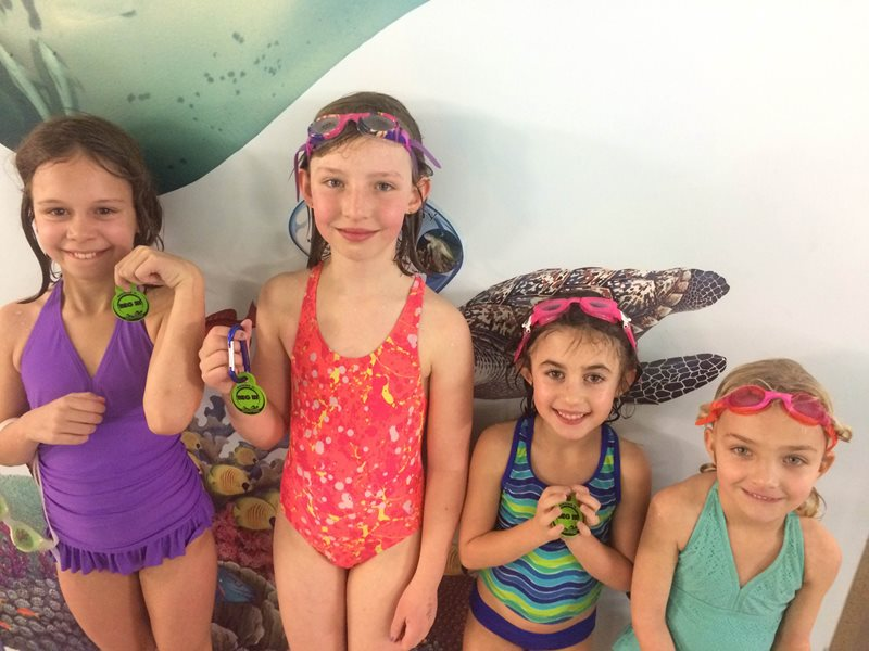Celebrating Your Swimmer's Milestones