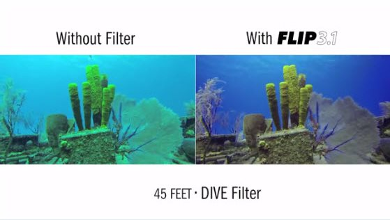 The Best Underwater Color Correction Filter System for GoPro Hero4, Hero3+, and Hero3 Cameras